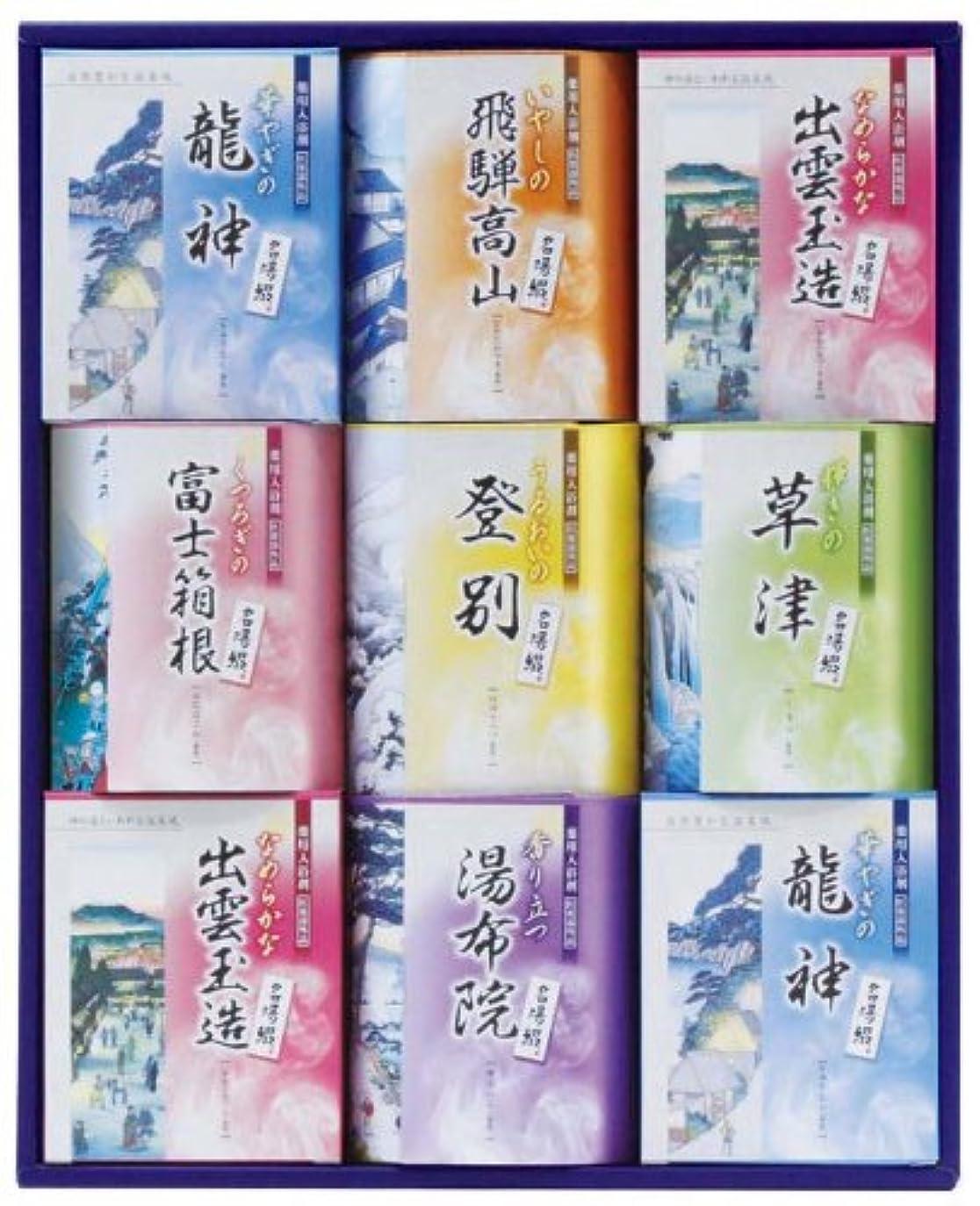 自慢本を読むタウポ湖TML-20名湯綴 薬用入浴剤セット