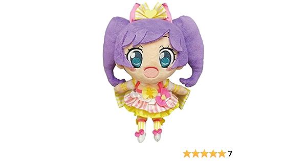 "Pripara Laala Manaka T-arts Takara Tomy Talking Box Plush 8/"" Toy Doll Japan"