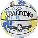 バスケットボール 5号球 ミニバス対応(小学生用) 屋外用 マーブルコレクション マルチ NBA公認 マルチ バスケ バスケット 83-715Z