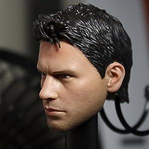 【Z&LDOLL】 1/6 フィギュア 素体 用 ヘッド パーツ 男性 ボイズ 美男子 ハンサム 欧米男性 頭 塗装済 ZL0103