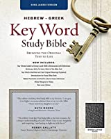 Hebrew-Greek Key Word Study Bible: King James Version, Black Bonded Leather: Key Insights Into God's Word (Key Word Study Bibles)
