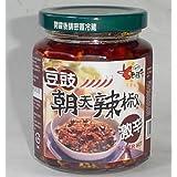 ロウバ 朝天 豆鼓入り辛味調味料(大) 240g