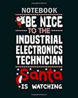 Notebook: industrial electronics technician - 50 sheets, 100 pages - 8 x 10 inches