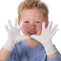 【ノルウェー喘息・アレルギー協会推薦】 ひっかき防止 アトピーバンブー手袋:キッズ用
