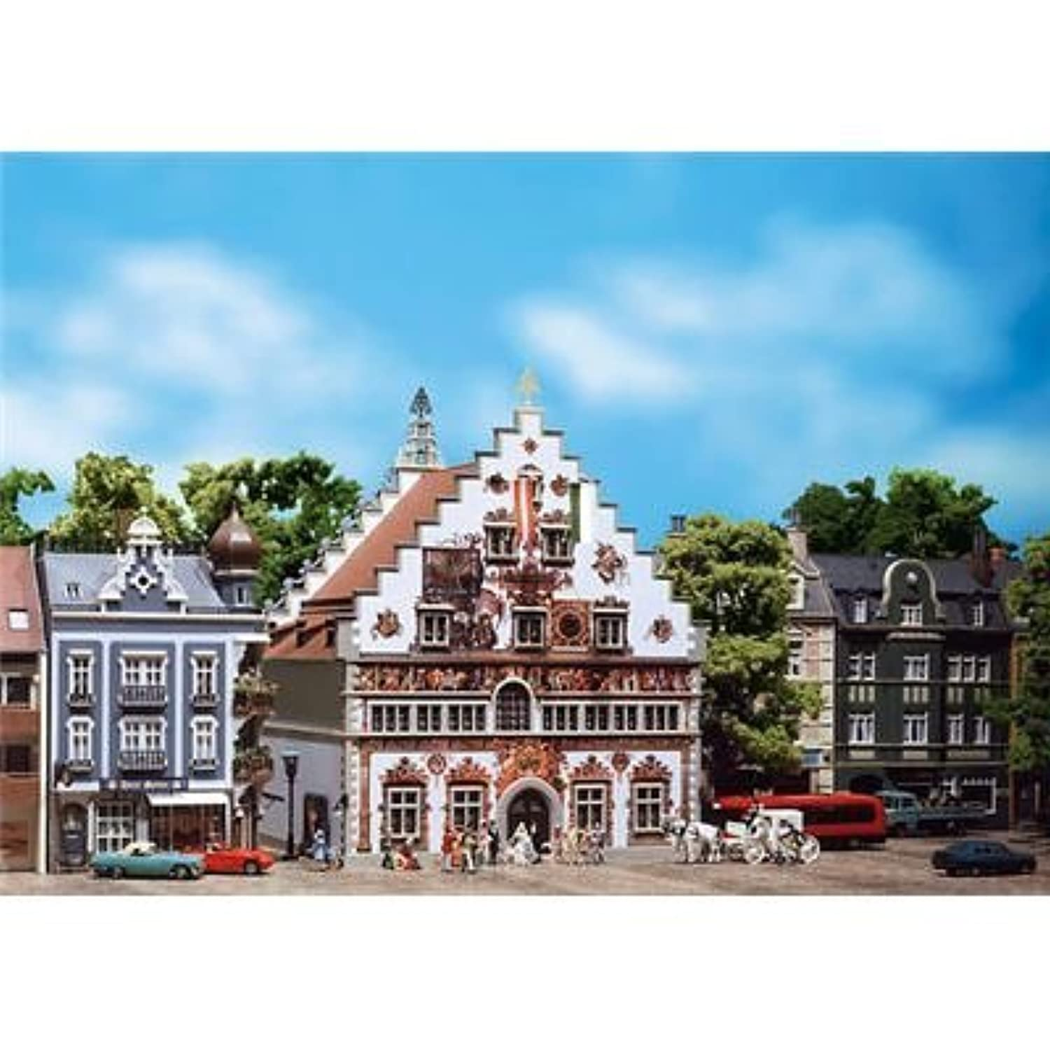 Faller 130902 Lindau Old Town Hall HO Scale Building Kit [並行輸入品]