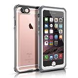 Easylife iPhone 6S/iPhone 6 ケース 最新改良版 防水 防水保護等級 IP68 耐衝撃 防塵 (ホワイト)