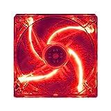 親和産業 速風140Red LED ワイドレンジPWMファン SH1425D-PWM20-LR