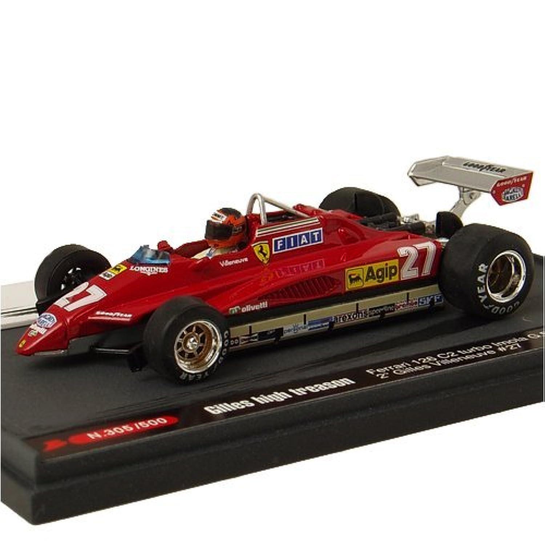 ブルム フェラーリ 126C2 ターボ 82 イモラGP #27 Gilles high treason (1/43 KBB004) 完成品
