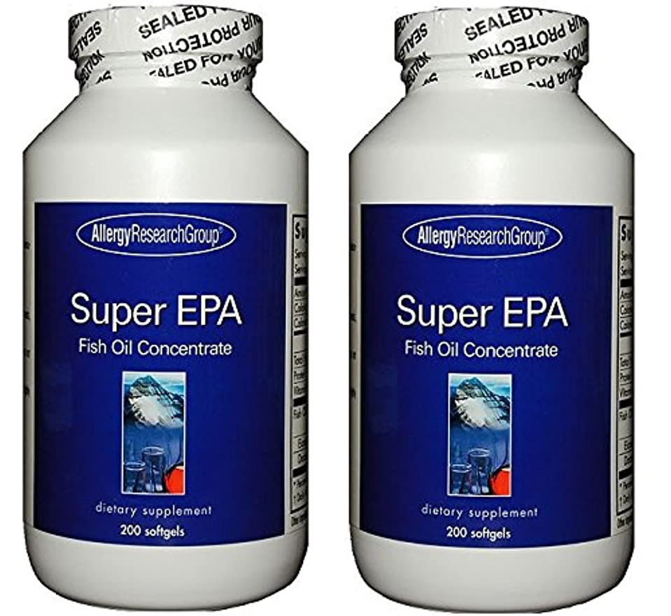 校長グレートオークものスーパーEPA & DHA  200ソフトカプセル (Super EPA Fish Oil Concentrate 200 softgels) [海外直送品] 2ボトル