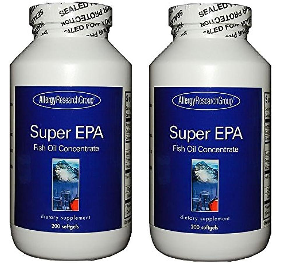 ふさわしい悲しい広告するスーパーEPA & DHA  200ソフトカプセル (Super EPA Fish Oil Concentrate 200 softgels) [海外直送品] 2ボトル