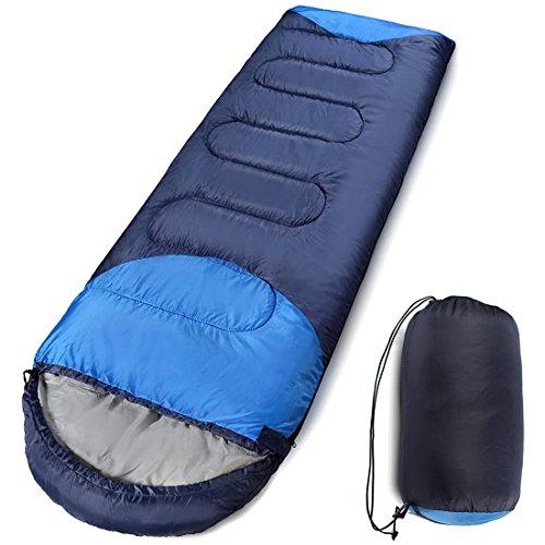 寝袋 封筒型 軽量 コンパクト 丸洗い シュラフ 夏用 冬用...