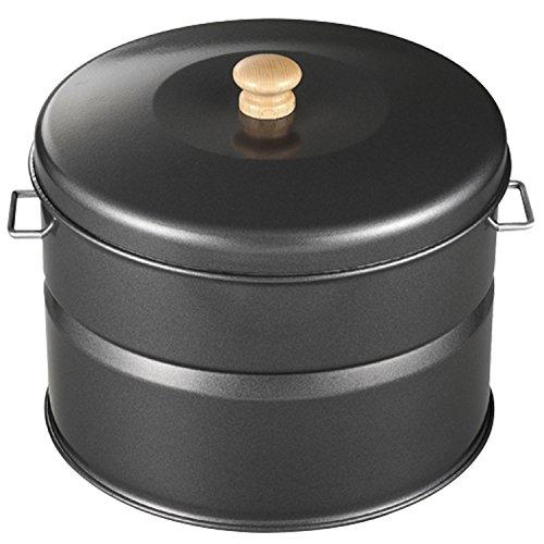 ホンマ製作所 (サンフィールド/SunField) キッチン スモークキュート (燻製レシピ/スモークチップ付き) グレー IH-240P