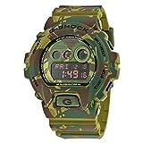 【カシオ】 CASIO G-Shock Green Camo Dial Resin Men's GDX-6900MC-3 Watch 緑の迷彩ダイヤル樹脂メンズ腕時計【並行輸入品】 KOOMOLL