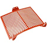 Blesiya Motorcycle Radiator Grill Cover Water Tank Grille Guard Protector Anti- Corrosion Fit for KTM 1290 Super Duke R 13-17 - Orange