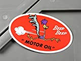 ロードランナー ステッカー ルーニー・テューンズ MOTOR OIL_SC-MS068-FEE