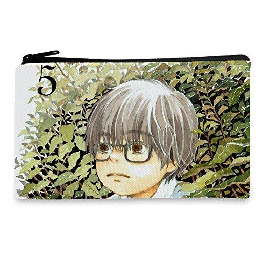 YOYOSHomeの3月のライオンアニメコスプレキャンバスコスメティックバッグ財布ペンバッグ