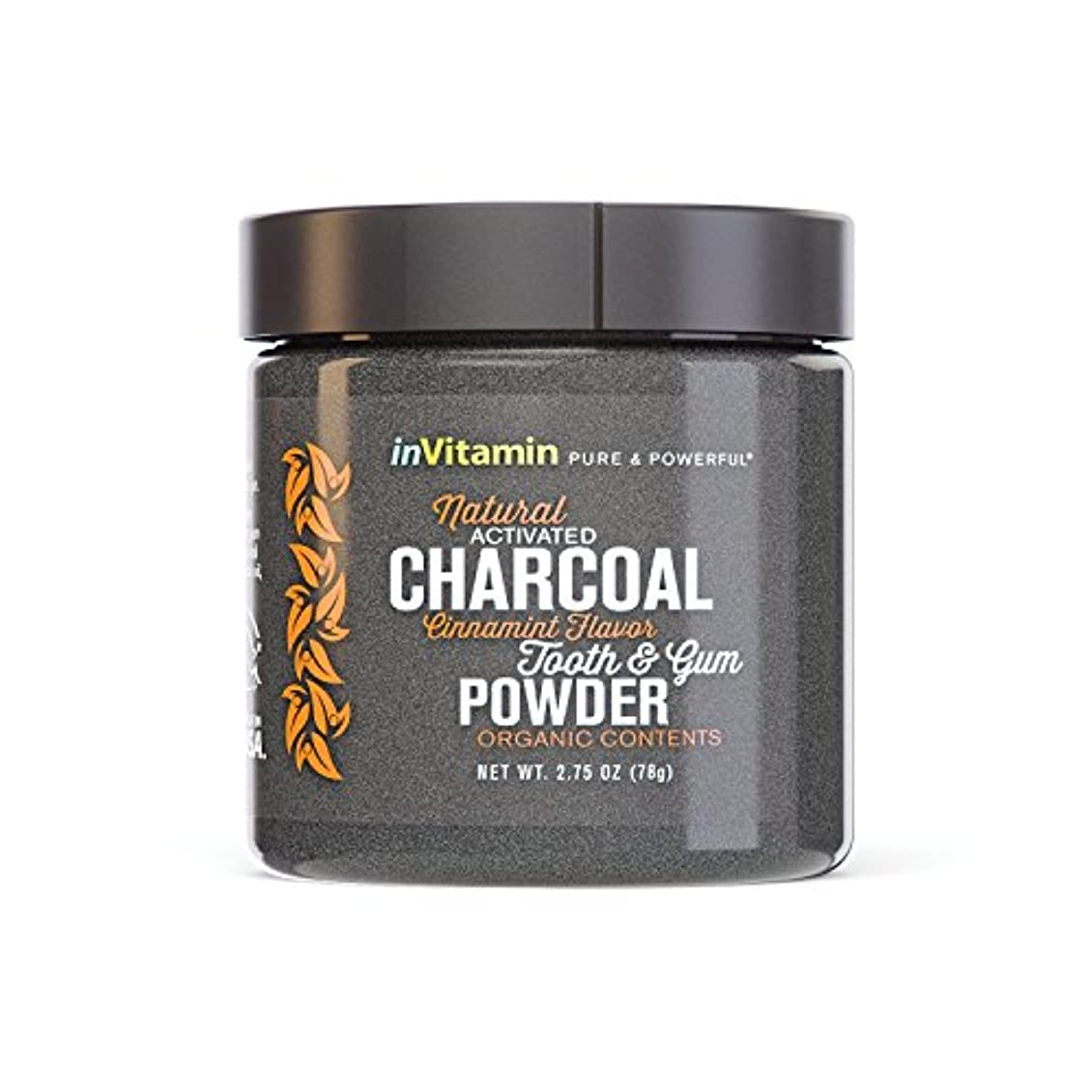 覚醒喜んでマージ歯磨き粉 Natural Tooth & Gum Powder with Activated Charcoal (海外直送)