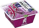 ロッテ 爽 冷凍ぶどう 185ml ×18個