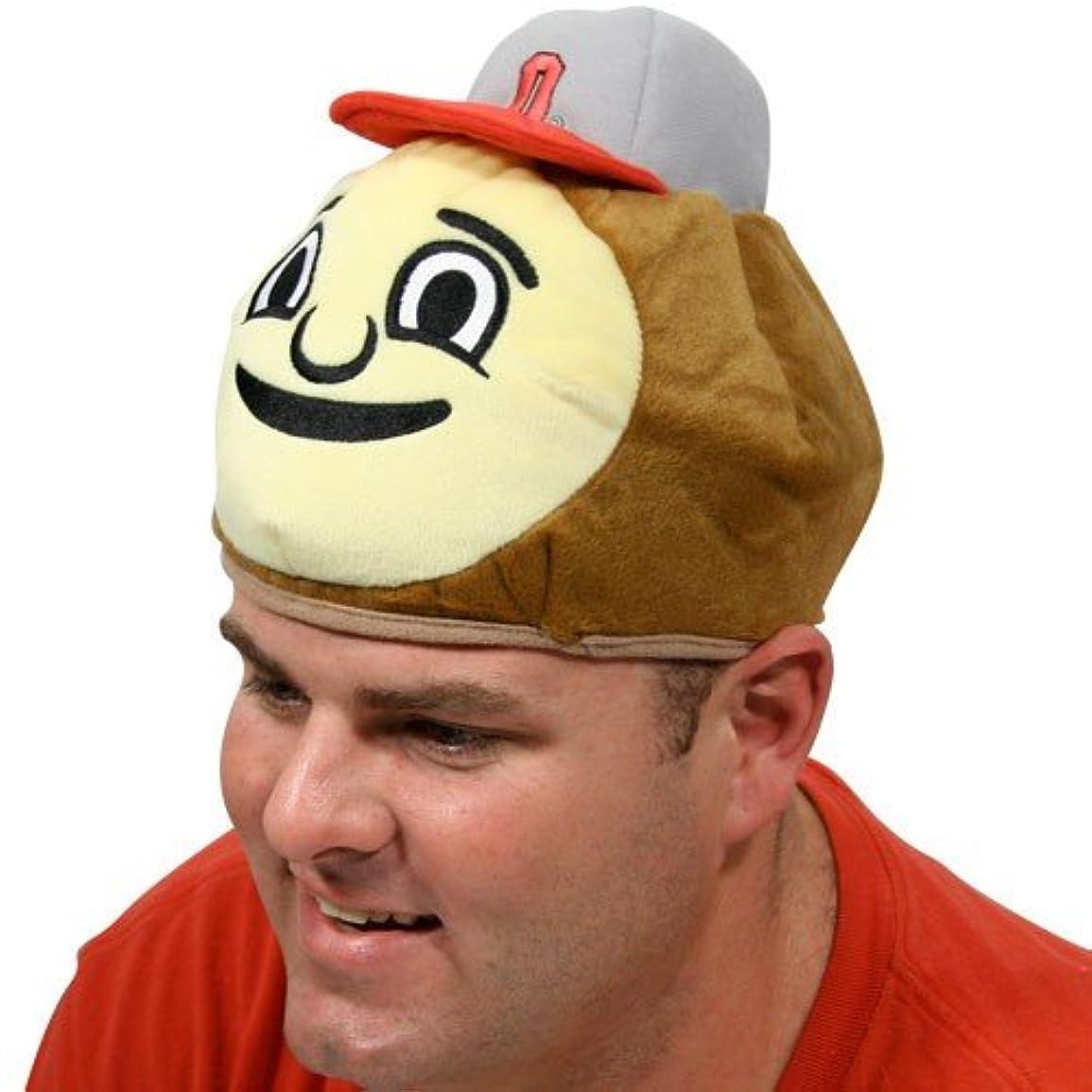 手綱放射能ビーチNCAA Ohio State Buckeyes Mascot Hat