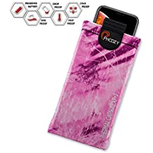 PHOOZY XP3 Series Thermal Phone Case - Protects Against Snow/Cold, Sun/Heat Drops. Water-Resistant, SinkProof Technology Rugged All-Weather Protection [Plus - Realtree Fishing Pink Fusion]