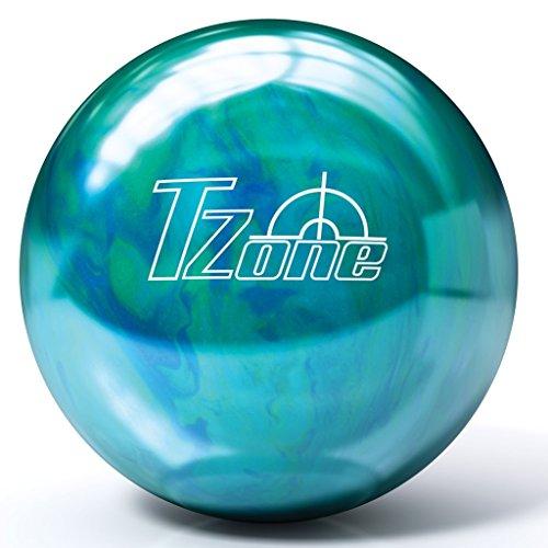 Brunswick T-Zone ドリル加工済みボウリングボール - カリビアンブルー
