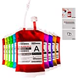 meowtastic Blood Bag for Drinks,Reusable Drink Pouches,Heavy Duty,Reclosable,for Halloween,Costume Props,Nurses Day Party