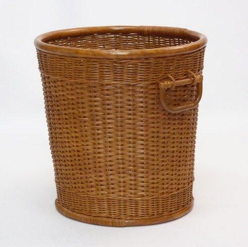 5010ーBR 高品質 鉢カバー 籐バスケット