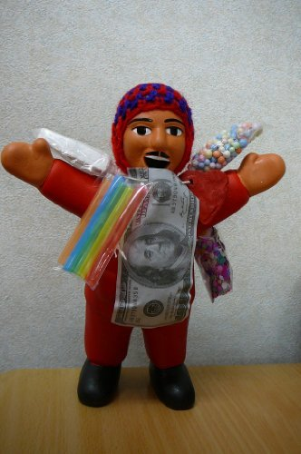 エケコ人形 エケッコー人形 約18cm 南米ペルー直輸入...