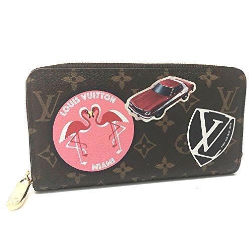 (ルイ・ヴィトン) LOUIS VUITTON M62149 ジッピー・ウォレット モノグラム・ステッカー ラウンドファスナー長財布 長財布(小銭入れあり) モノグラムキャンバス/レディース 中古