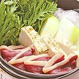 国産 京鴨ロースの鴨鍋セット (合鴨肉 合鴨入つくね 特製合鴨スープ) (2人前)