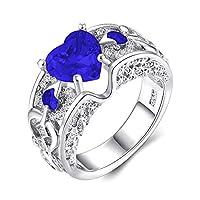 (デマ―クト)De.Markt 指輪 ハート リング 婚約指輪 レディース ジルコン 結婚式 キラキラ オシャレ ロマンチック アクセサリー 5~10号