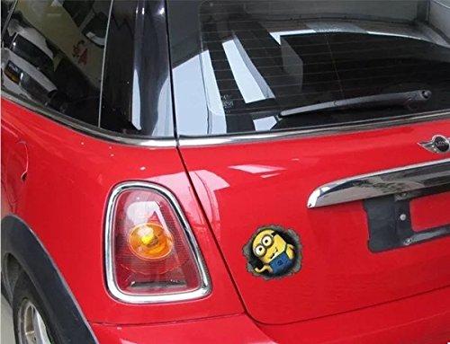 G・Watanabe 怪盗グルー ミニオンズ デカールステッカー ボディー用 ガソリンキャップ