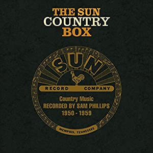 THE SUN COUNTRY BOX COUNTRY MUSIC RECORDED 1950-59