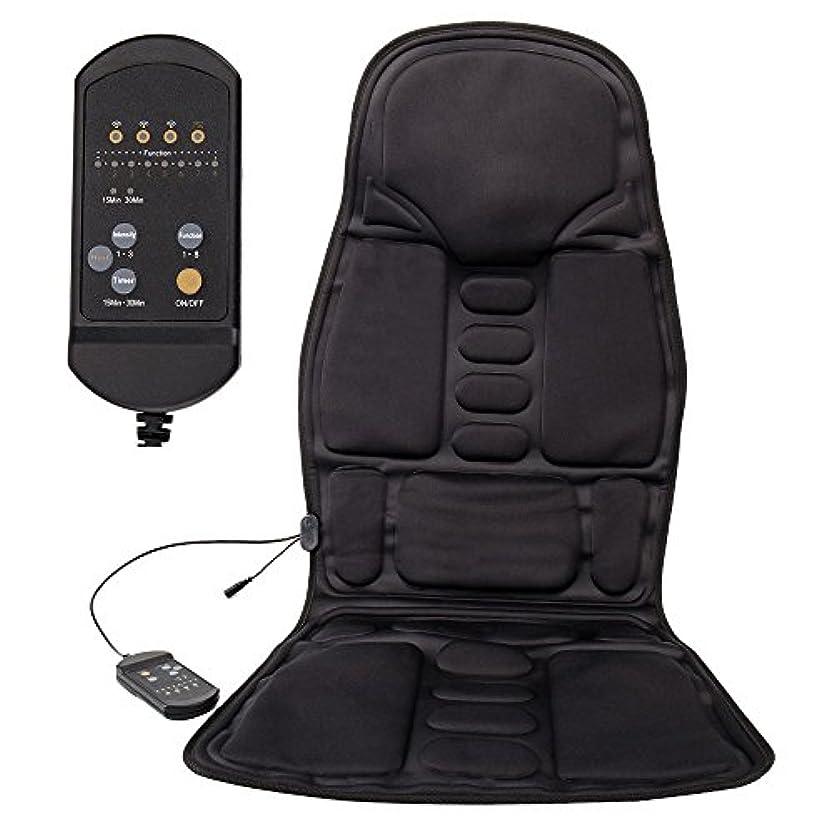 解決するでるアグネスグレイLoveStory マッサージシート シートマッサージャー カーシートカバー マッサージ器 座椅子用 高品質PUレザー製車載用ツインバードマッサージシート ヒーターマッサージ 5機能5もみ玉付き 汎用 椅子や座椅子用 持...