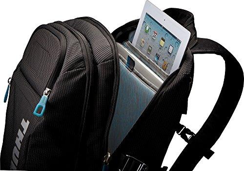 スーリー 正規品2年保証 スーリー リュック THULE バックパック Thule Crossover Backpack 21L リュックサック デイパック B4 A4 PC収納 撥水 通勤 旅行 メンズ レディース TCBP-115 Black