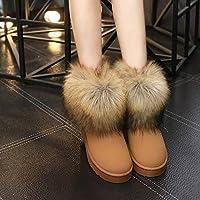 [モリケイ] ファームートンブーツ レディース ブーツ 靴 ショートムートン 防寒 ファー フラット ふわふわ 冬靴 黒 ボア ふわふわ もこもこ ファー ジュニア スエード ぺたんこ 歩きやすい 防寒