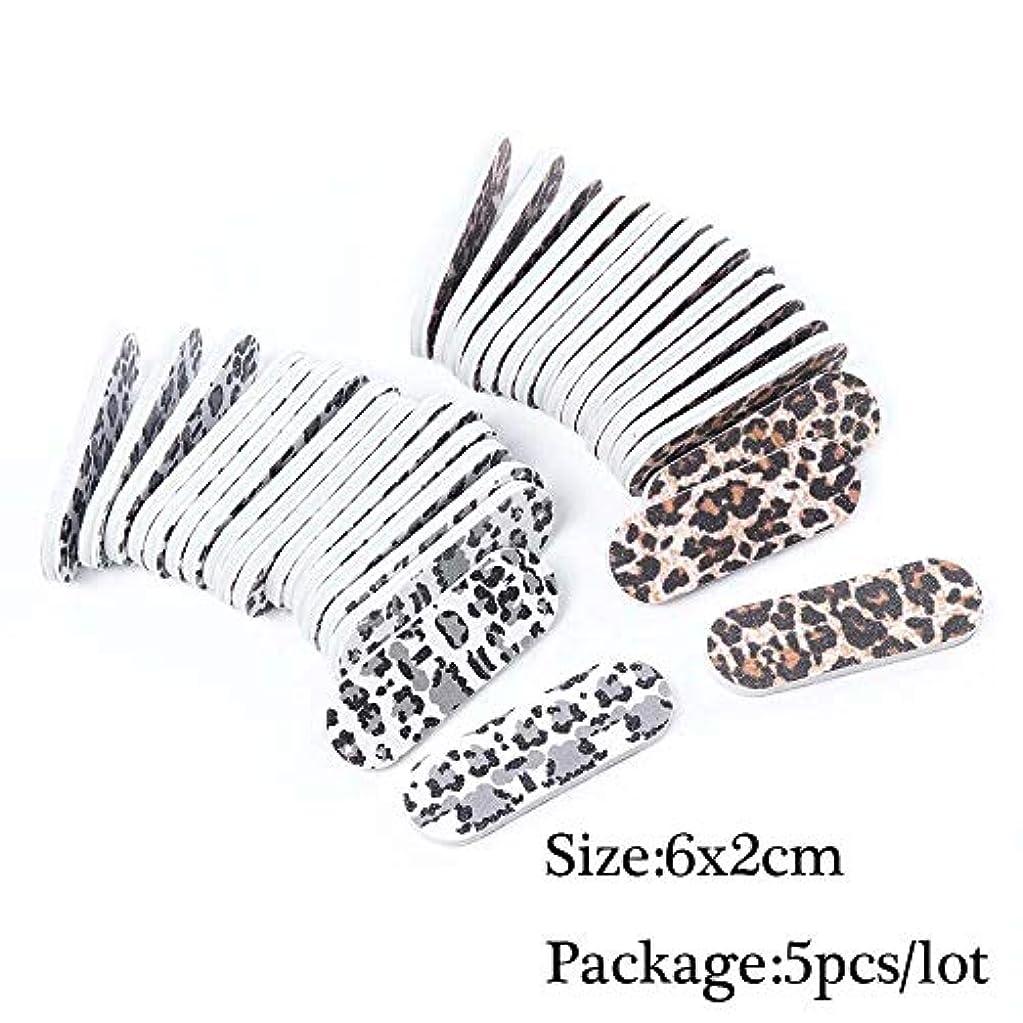 精通したシャックル従事する5本の耐久性のあるネイルファイル研削サンディンググリットバッファーブロック用UVジェルネイルポリッシュライムaオングルプロフェッショナルマニキュアツールSAA39 1