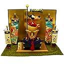 ちりめん 兜飾り 悠久兜お飾りセット つるし飾り特典付オリジナル五月人形 ミニ 五月人形 兜 幅67cm リュウコドウ