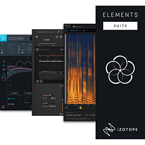 iZotope Elements Suite バンドル (Neutron Elements + Ozone8 Elements + RX6 Elements) 【ダウンロード版】 アイゾトープ