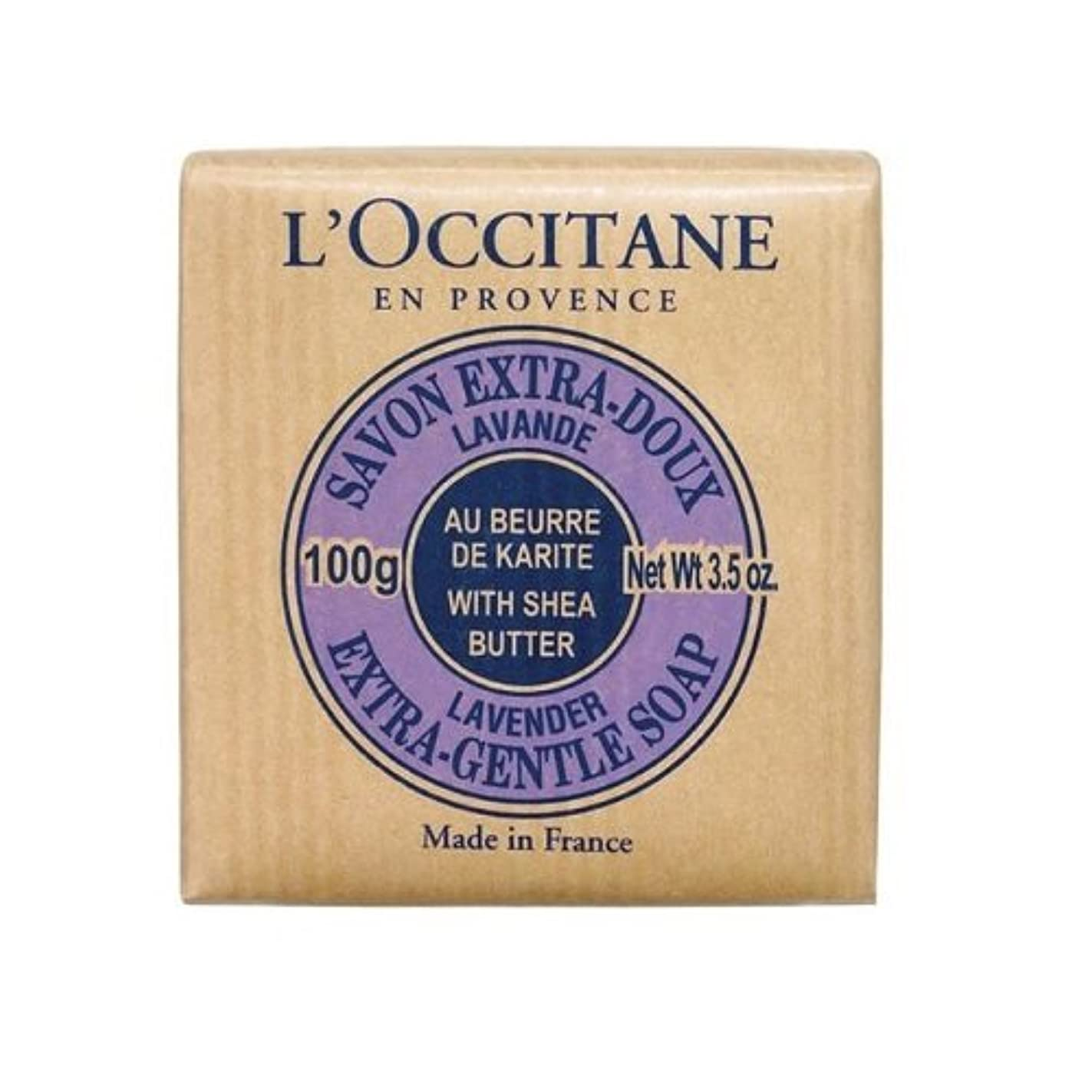 排泄物直面する暴行ロクシタン(L'OCCITANE) シアソープ ラベンダー 100g