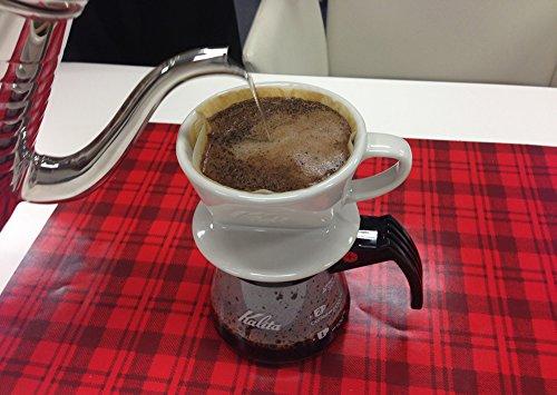 カリタ 陶器製コーヒードリッパー 101-ロト(1~2人用) ホワイト #01001