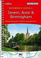 Severn Avon & Birmingham No. 2 (Collins Nicholson Waterways Guides)【洋書】 [並行輸入品]