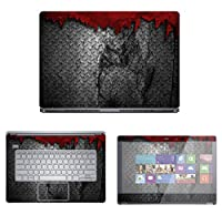 Decalrus - Protective Decal Skin skins Sticker for Dell Inspiron i7437 7000 Series (14 Screen) case cover wrap DEinspironi7437-112