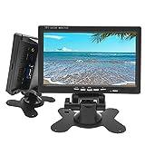 Camecho モニター 7インチ ディスプレイ VGA /AV/HDMI入力 PC/DVD/テレビ/監視モニター/車載モニター対応