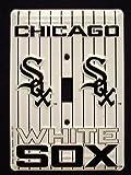 ChicagoホワイトSoxライトスイッチカバー(シングル)プレートls10024 ¥ 21,590