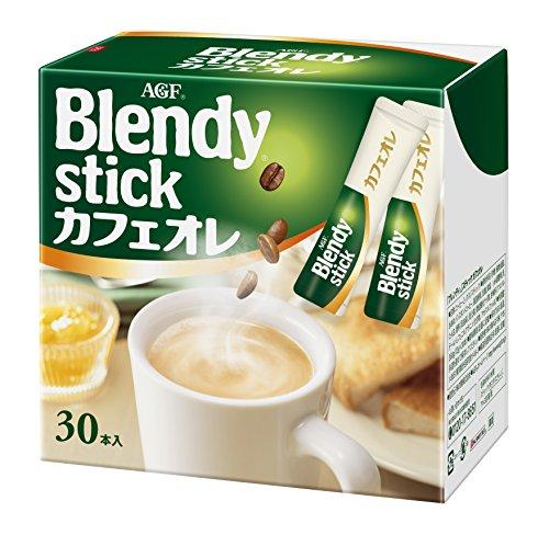 AGF ブレンディ スティック カフェオレ 30本 【コーヒーミックス】 【個包装 スティックタイプ】