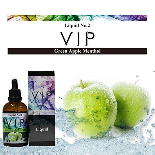 VIPリキッド No.2【Green Apple Menthol】100mL