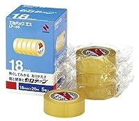 (まとめ買い) ニチバン セロテープ エルパックエス 【5巻】 LP-18S 【×3】