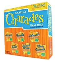 Charades Party Game - Family Charades-in-a-Box Compendium Board Game[並行輸入品]