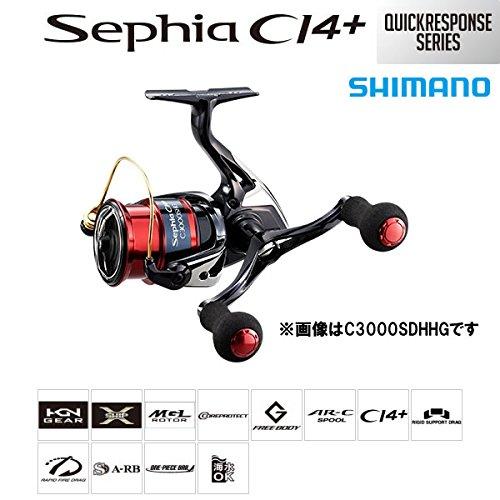 [해외] 당일발송 시마노 릴 17 세피아CI4+ C3000SDH